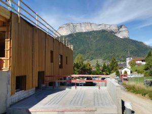Groupe scolaire de Pringy (Haute-Savoie). Architecte: NUNC Architecte